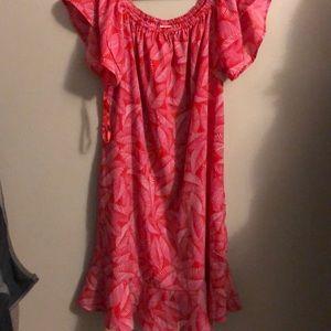 Merona off the shoulder dress L